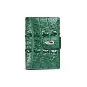 afanze Thailand crocodile Female bag Brief paragraph women wallet fashion large capacity new women crocodile purse