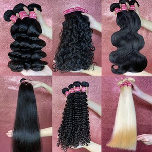 hair factory clearance wholesale cheap peruvian human hair extensions bundles weave body wave natural color Straight within drop shipping