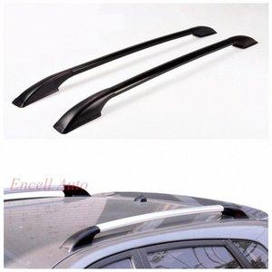 2adet Seti Alüminyum Alaşım Çatı Raflar Çatı Kutular Barlar Peugeot 206 207 208 Araç 8aZZ # için Mazda 2 3 Sticker Fit Rack /