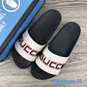 Gucci Flip Flop Frauen der Männer Sandalen Designer-Schuhe xshfbcl Luxus Slide Summer Fashion Breitflach Slippery Sandalen Slipper Flip Flop Größe 35-45