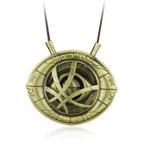 Collier pendentif amulette Docteur Œil étrange d'Agamotto