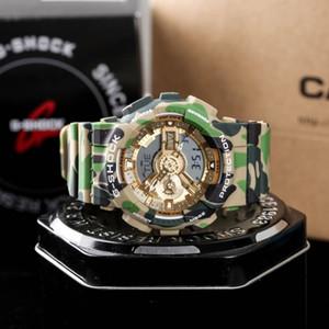 Casio Watch CASIO G-SHOCK G Montre-bracelet Fashion Style MudMaster avec la boîte Montres Hommes Montres numériques en gros de les relojes de masculino
