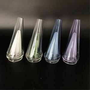 cam kase 1pc olmadan teçhizat dabbing sigara aksesuarları 2020 Tepe cam yedek parça 5colors