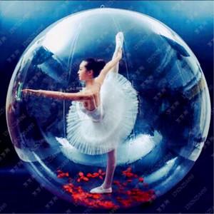 شحن مجاني 2.5 متر 0.8 ملليمتر pvc نفخ المياه المشي كرات الإنسان الهامستر الكرة zorb الكرة البلاستيك الكرة الرقص بالون لعبة