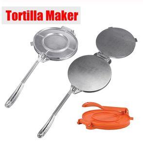 Tortilla Makinası Basın Pan Ağır Restoran Ticari Alüminyum Tortilla Pie Maker Basın Aracı Ev Aletleri Parça