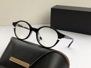Новый роскошный мода оптические очки SIGLO круглый простой кадр avantgarde популярные щедрые повседневный стиль ясно очки плоский свет очки