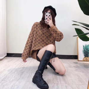 New autumn and winter round-neck pullover thick sweater loose Korean version of long-sleeve knit bottom shirt plus-size women's blouse M-3XL
