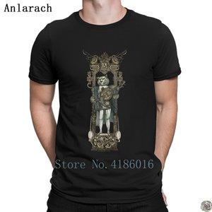 Steampunk Banjo Leone tshirt divertente maglietta HipHop Top estate comico per gli uomini manica corta maschile personalizzato tee shirt Tempo libero