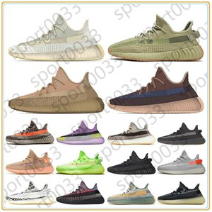 Kanye west running shoes, Top quality women mens Sulfur Eliada Abez Translucent Yecher Asriel Israfil Cinder trainers sneakers