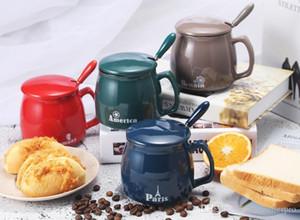 Seramik Kupa ısmarlama Büro Coffee Cup Öğrenci Ev Aşıklar Su Kupa şaşırtıcı hediye tam baskı özel promosyon ürünleri ofis Porselen