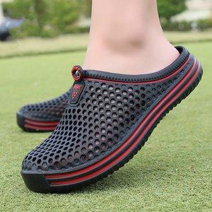 Calde di vendita-Dropshiping scarpe comode all'aperto della spiaggia degli uomini scivolare sul giardino zoccoli Acqua casual doccia pantofole Unisex