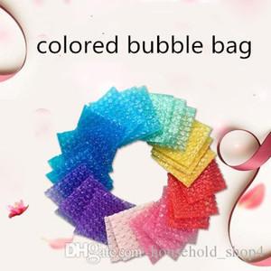 Kalınlaşmak Kıtıklanması Wrap Kabarcık Renkli Bubble Çanta Mailer Ekspres Basınca dayanıklı Şok geçirmez Koruyucu Wrap Hediye Çanta Şeffaf Wjmm Ambalaj