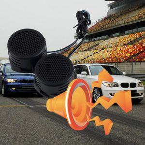Universal 2 x 500 Watts Super Power-parleurs Tweeter à dôme haut-parleurs pour la voiture Mini DVI vers HDMI haute efficacité du véhicule haut-parleur