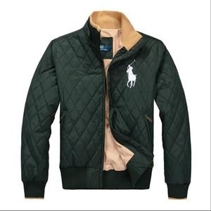 YENI erkek POLO Ceketler Kaliteli Pamuk ceket klasik nakış Rüzgarlık lüks Ceketler Rahat Aşağı ceket Kadın Giyim Mont Windrunner