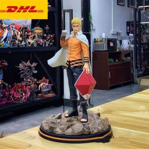 30CM MH Naruto Statue 1 7 Scale Hokage Bust Uzumaki Naruto Full-Length Portrait The Fire Nation Original Version GK Action Figure Toy X590
