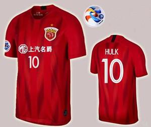 2019 SHANGHAI CSL SIPG OSCAR thai qualidade camisa de futebol em casa HULK ELKESON AKHMEDOV camisa de futebol 2019 2020
