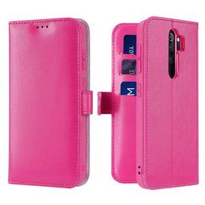 For Xiaomi Redmi Note 8 Pro DUX DUCIS KADO Series Shockproof Horizontal Flip Leather Case with Holder & Card Slots & Wallet