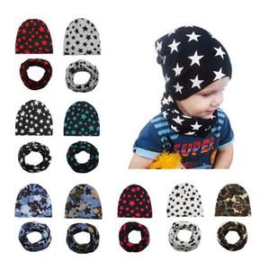 11 cores do bebê crianças chapéu cachecol estrelas impressão Beanie Crochet Menino bonito chapéu recém-nascido Hat Cap bebê, Kids maternidade