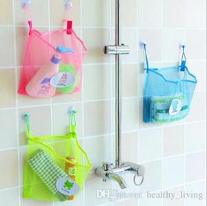 Creative double suction cup hanging storage bag bathroom multi-purpose storage mesh bag kitchen debris bag -Z029 06