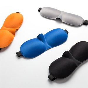 Heißer Augenmaske 3d stereoskopische nicht-Spur Schutz Augenmaske für schlafen in Luftfahrt Flugzeuge Schlafmaske für siesta Schattierung T3I5659