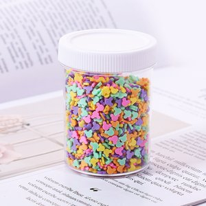 100g Box Cake Star Slice Filler For Nails Art Tips Balls Slime Soft Clay For Kids Toys Lizun DIY Accessories Supplies Decoration