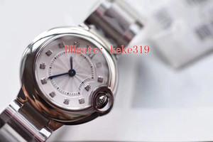 Mode Ballon Bleu Montres-bracelets V6 WE69010Z4 28mm 316L ETA 057 Mouvement VK Quartz Chronographe Saphir Verre Mesdames Femmes Montres Montre