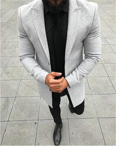 Designer Suits Fashion Panelled Straight Mens Blazers Casual Single Breasted Business Males Clothing Solid Color Mens