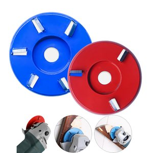 Wood Carving Disc Tool 3 4 5 6Tooth Angle Grinder Accessories Milling Cutter Flat Curve Type Fit for Woodworking Grinding Plane