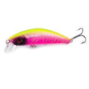 Lifelike Minnow Fishing Lure 7CM 8.5G Hooks Fish Wobbler Tackle Crankbait Artificial Japan Hard Bait Swimbait