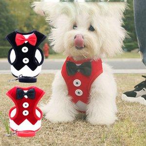 Klasik Ekose Köpek Giyim Nefes Küçük Köpek Yelek ile Toka Bow Sıcak Yavru Ceketler Köpekler Giyim Pet 10 İsteğe bağlı Tasarımlar Malzemeleri