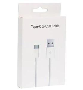 빠른 유형 C 고속 충전기 코드를 충전 삼성 갤럭시 S8 S9 S10 LG의 G5 소매 패키지 포장 상자 새로운 OEM 타입 C USB 케이블
