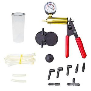 Professionelle Handvakuumpumpe Kit Car Auto-Druck-Prüfvorrichtung für Bremsentlüftungs Tester Set Tragbare Durable-Reparatur