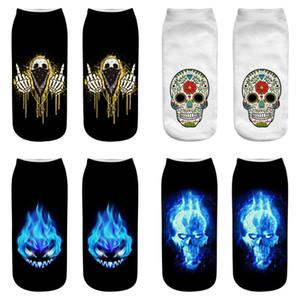 2019 Impressão 3D Men Socks Marca Sock Moda Unissex Natal Socks engraçado da novidade Art Chaussette Femme Calcetines Mujer