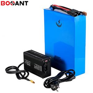 20S 17P 72v batteria 57.8ah bicicletta elettrica per Panasonic 18650 72v batteria al litio 3000w E-bike cella con 5A caricatore libero Trasporto