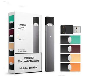 Высокое качество новейший Ju starter Kit 250mah аккумулятор с 4 стручками USB зарядное устройство портативный Vape Pen device Kit DHL бесплатная доставка