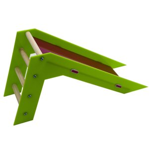 Parrot Supplies Vogel Intelligenz Skill Training Slide und Krabbeln Ladder Toy Farbe Random