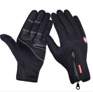 Hot Touch screen gloves cold proof men women Sports Gloves fleece thickened Winter outdoor riding ski warm waterproof light yakuda fitness