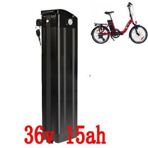 Frete grátis Inferior de descarga 500 w 36 v v 15AH 36 Scooter Elétrico Bicicleta Elétrica Da bateria bateria de lítio com 42 v 2A carregado