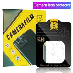 For iPhone 12 Back Camera Lens Protector for Samsung S20 Plus Tempered Glass Full Curved Clear Protector Film for iPhone 11 PRO Max in Box