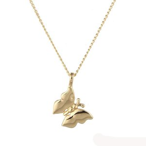 Cute Butterfly Pendants Necklace Sweet Charm Choker Necklaces Girls Graduation Card Statement Jewelry Gift Clavicle Chain
