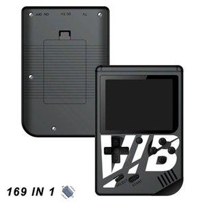 Vibrando colorido videogame portátil jogador do jogo VIB portátil pode armazenar 169 jogos saída de apoio TV vibrando jogo Console