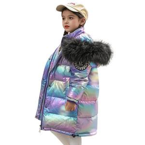 겨울 어린이 outwear 패션 긴 아이들이 코트 키즈 겨울 코트 소년 코트 소녀 아래로 자켓 소녀 코트 큰 아이 옷 A9215