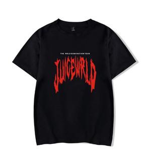 """Rapçi Suyu wrld Emo tuzak Şarkı \ """"Lucid Düşler \"""" Hip hop baskı tişört Kadın / Erkek Giyim Sıcak Satış Kısa Kollu T Shirt"""