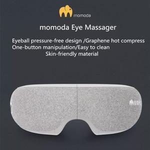 Оригинальный Xiaomiyoupin Momoda глаз Электрический массажер Графен Eyes Relax Therapy согревающий компресс Головная боль Стресс помощи Машинка для глаз 3038026