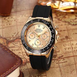 Top designer watch hot sale luxury watch date adjustment men's quartz Reloj business steel buckle stainless steel men's watch