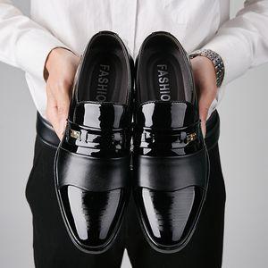 Горячих продажи- бездельника платье обуви мужчины костюм обувь бренд COIFFEUR черная формальная обувь для мужчин chaussure Mariage Ьотта Zapatos vestir Hombre Bona