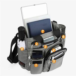 Bolsas Men Anti Theft Backpack New carregamento USB Mochilas Multifuncional Waterproof Schoolbag Viagem de Negócios