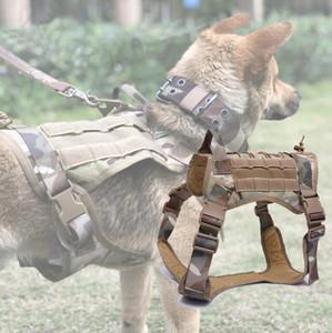 Armee-Service-Hundeweste Tactical Dog Training Kleidung Harness Nylon Außen Schießen Jagd Load Bearing Westen