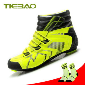 Tiebao cycling shoes road winter racing bike athletic shoots bicycle zapatillas deportivas mujer equitation mens sneakers