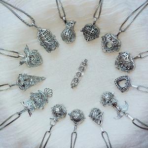 Магия Locket Эфирного масла ожерелье Мода женщина Духи Диффузор подвеска Подвеска ожерелье леди ювелирные изделия партия подарки TTA1528